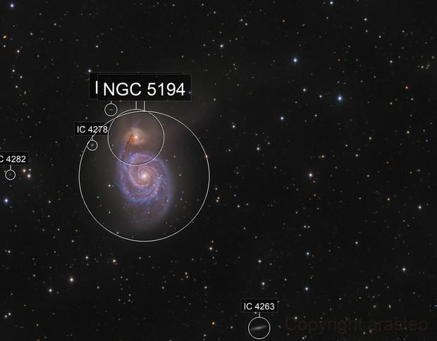 Whirlpool Galaxy M51