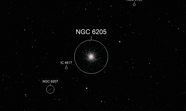 M13 The Great Cluster in Hercules