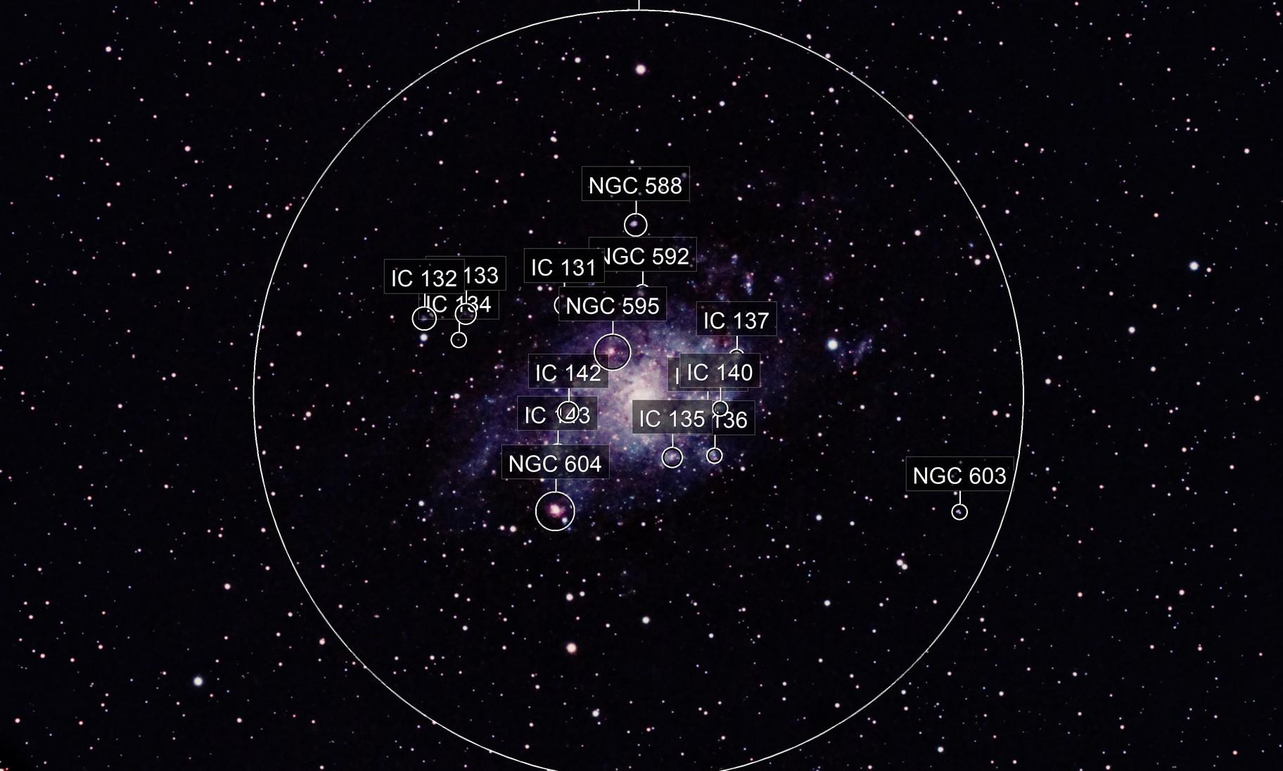 M33 Triangulum Galaxy