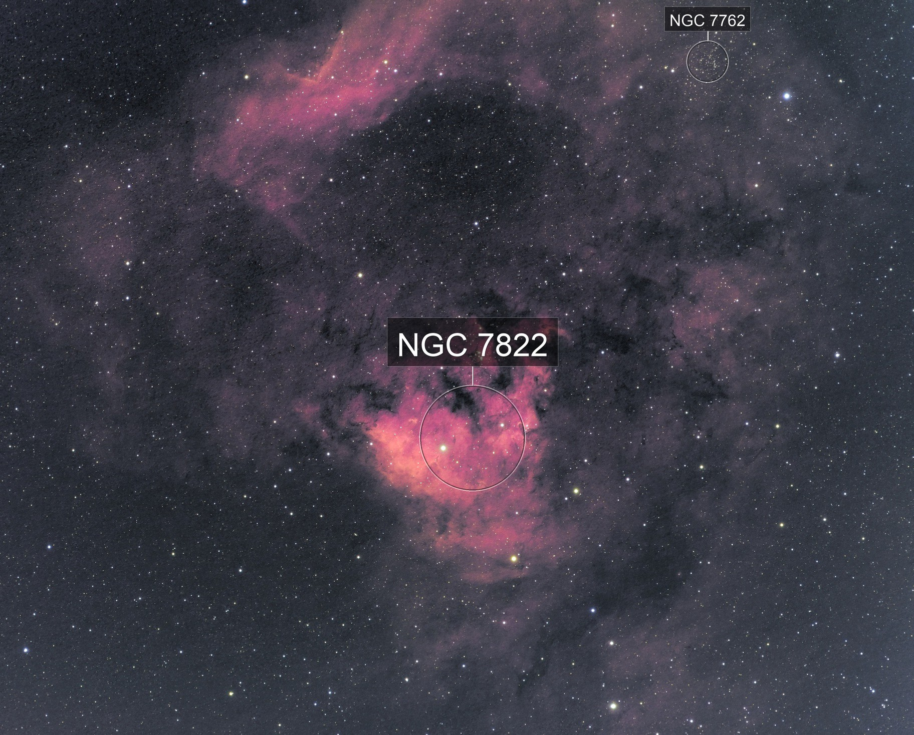 NGC 7822 and Ced 214