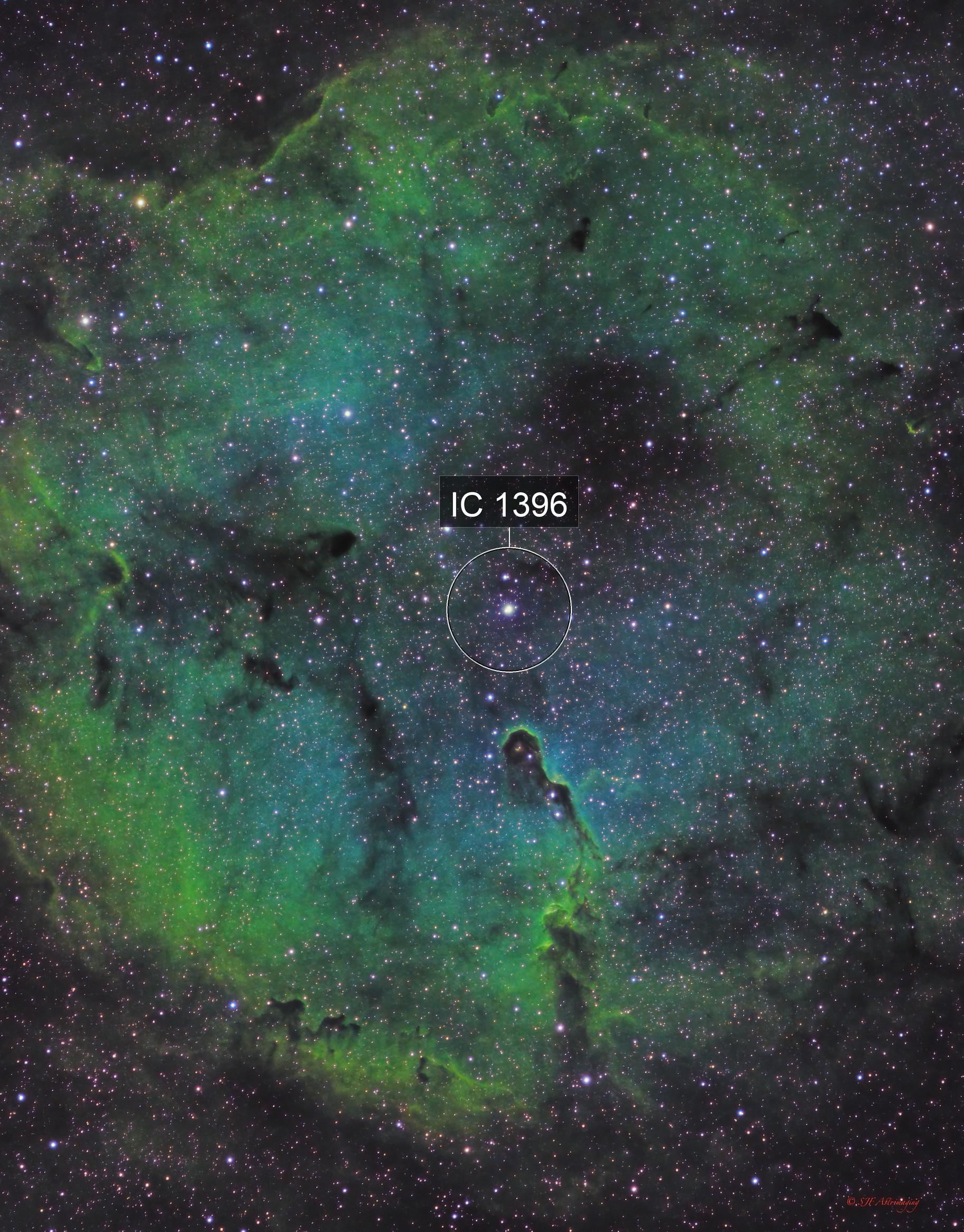 Elephant's Trunk Nebula, IC 1396