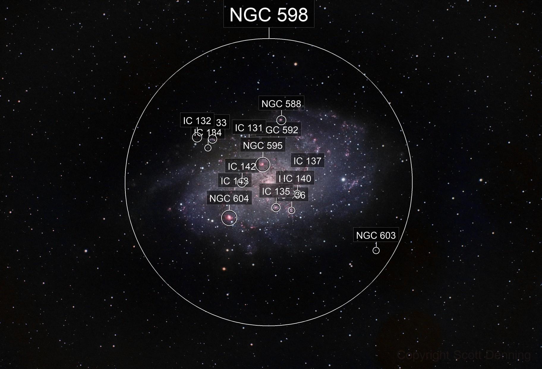 Triangulum Pinwheel Galaxy (M33)
