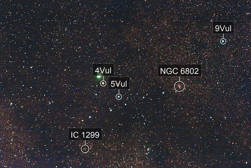 C/2009 P1, Comet Garradd, shot September 2nd, 2011 in the Coathanger asterism