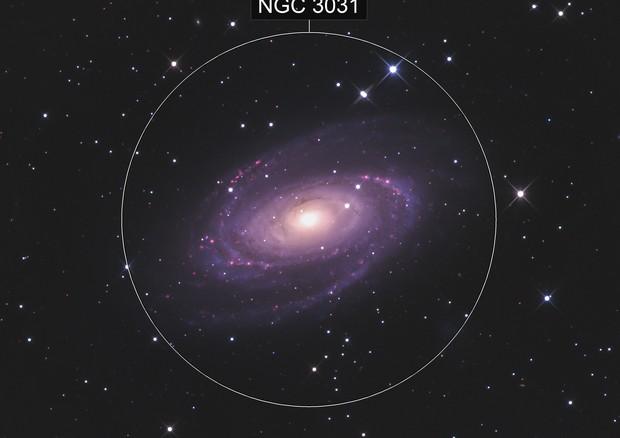 M81 Bodes Galaxy HaRGB