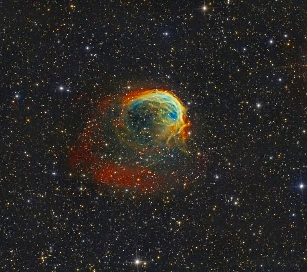 Sh2-188 (Planetary nebula) Version II