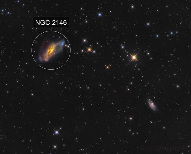 NGC 2146 and NGC 2146A