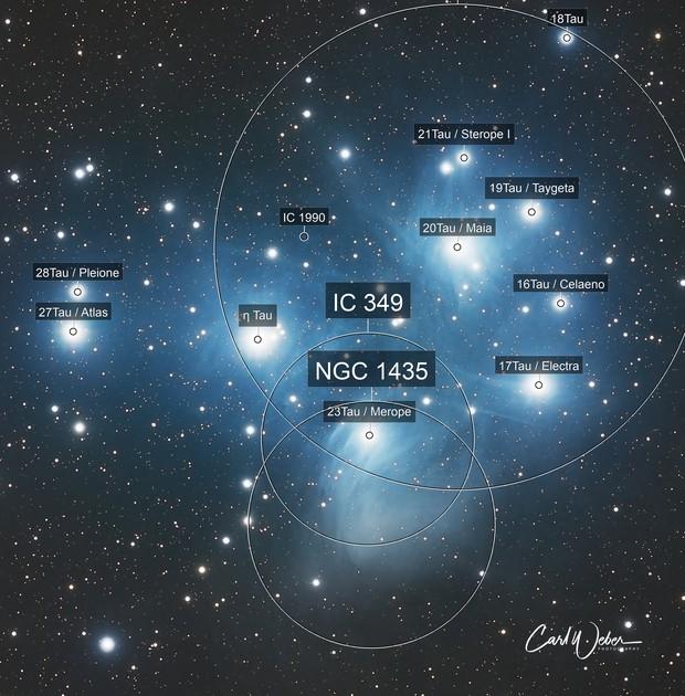 M 45   The Pleiades