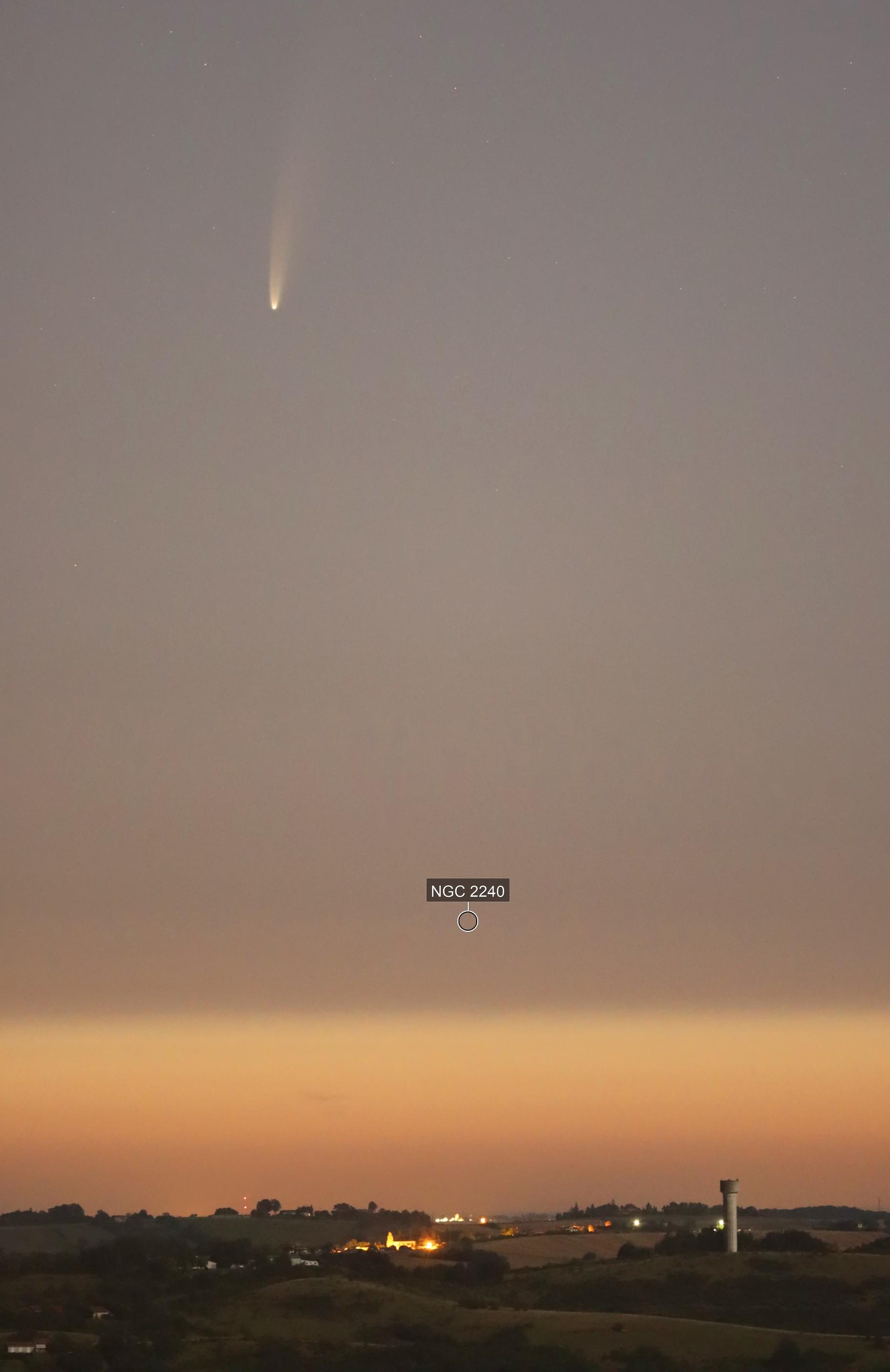 Comète C/2020 F3 Néowise