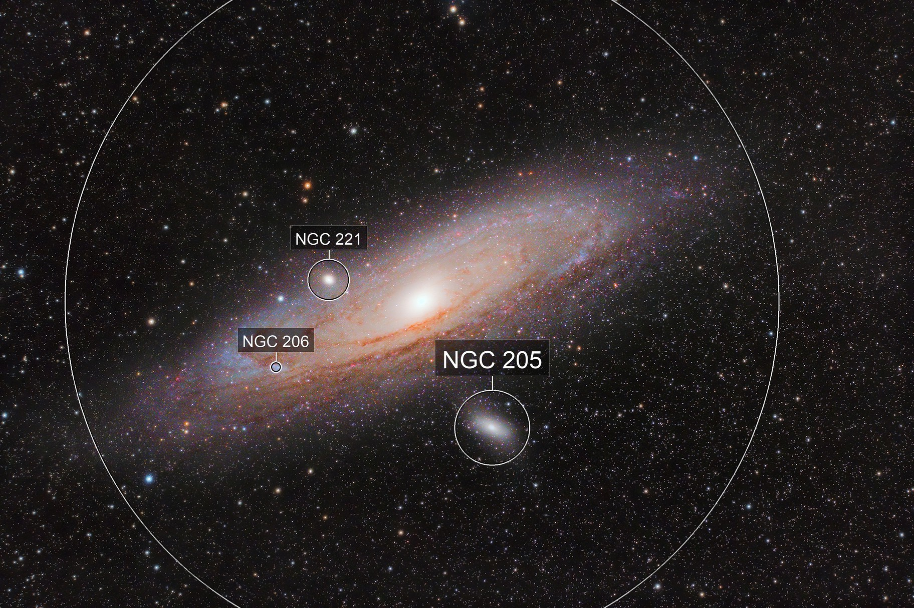 Our Nearest Galactic Neighbour: Messier 31-The Andromeda Galaxy