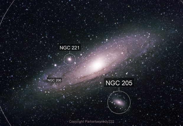 Andromeda revisited with a flatener