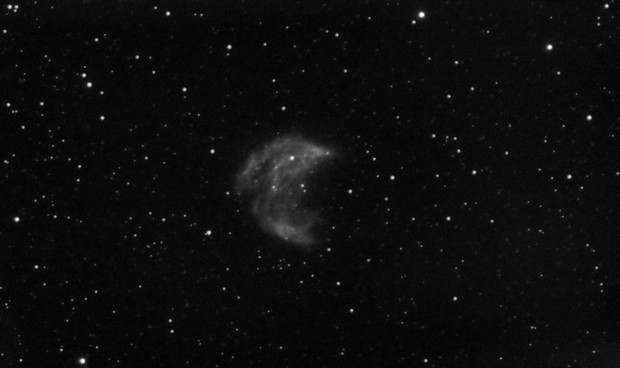Abell 21 - Medusa Nebula - Two Nights - Bresser AR102-XS - Ha