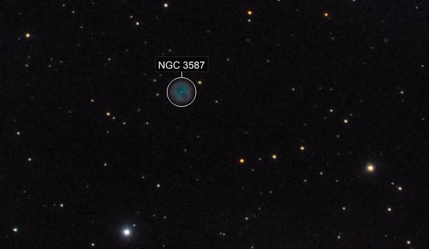 M97 - Owl Nebula - 20200523 - Meade 2045D at F4