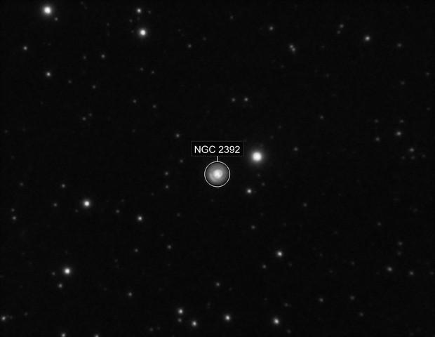 NGC2392 - Eskimo Nebula - 20190321