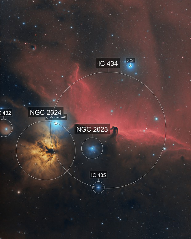 IC434, B33 Horsehead Nebula