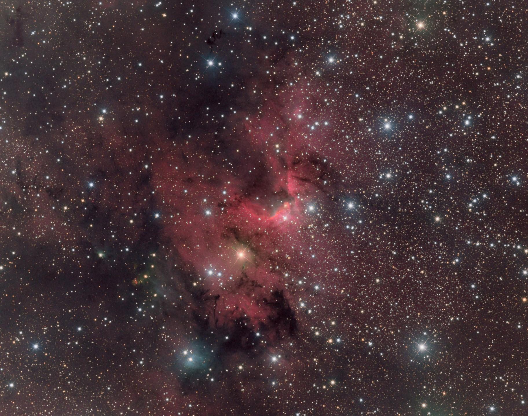 "Sh2-155 ""Cave"" Nebula"
