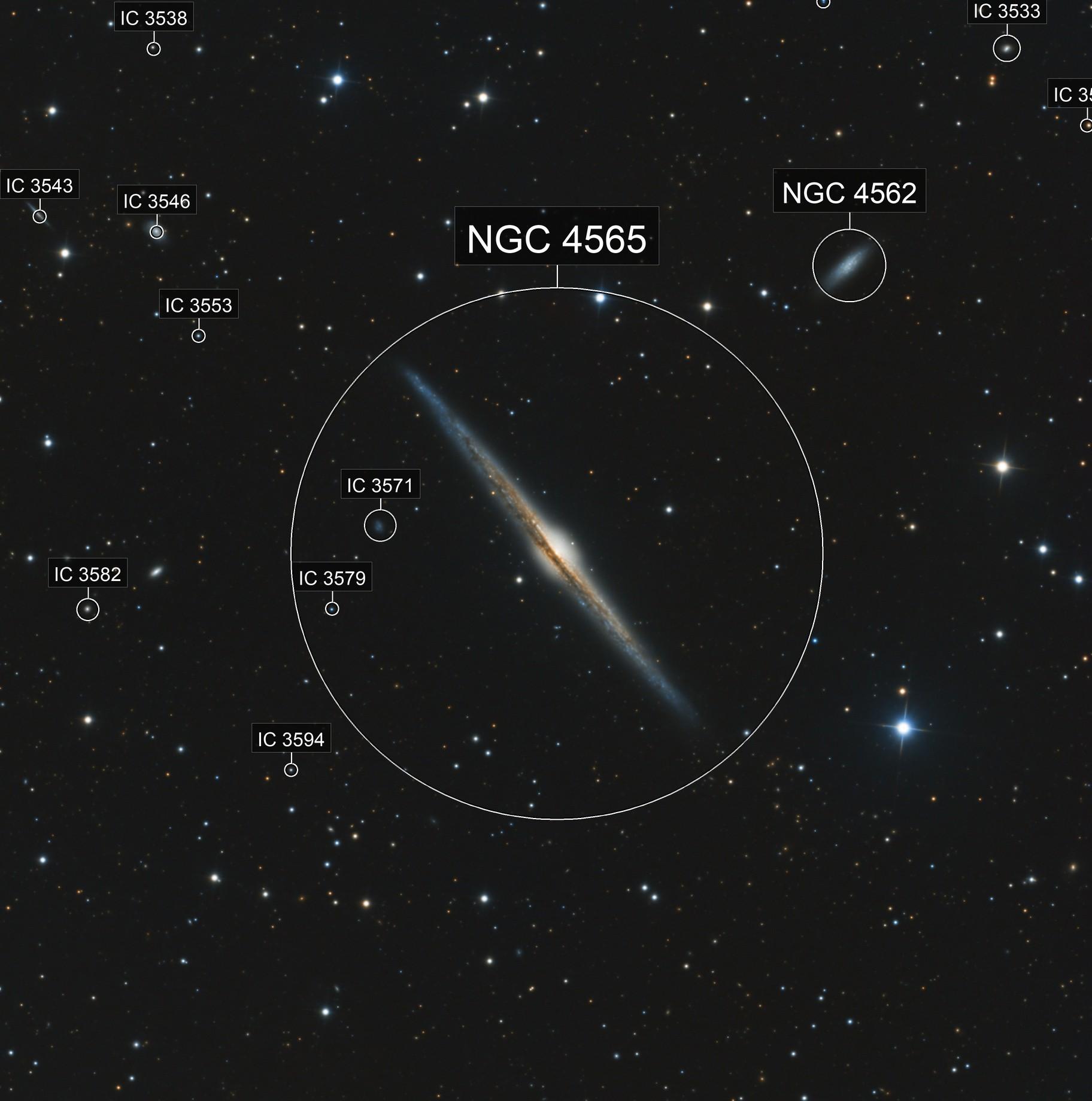 """NGC 4565 """"Needle"""" Galaxy"""
