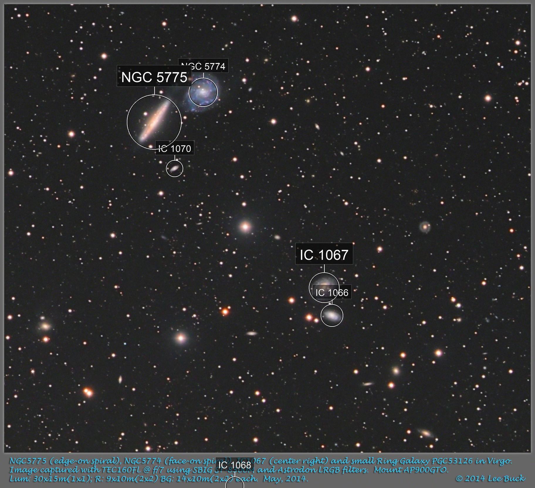 NGC5774, NGC5775 in Virgo