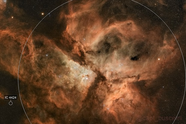 Eta Carina NGC3372