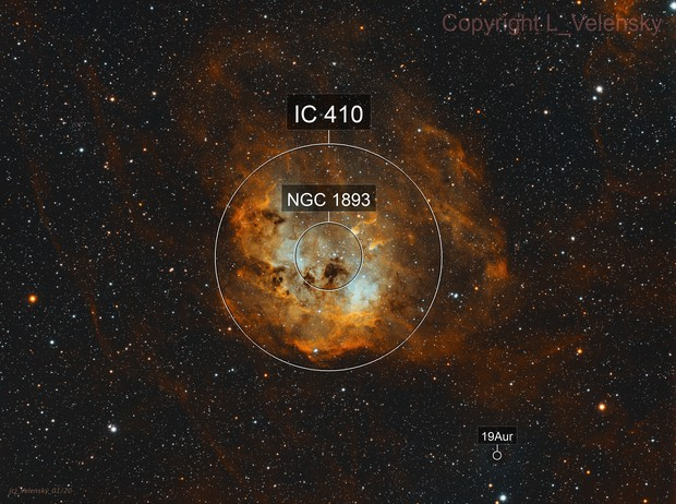 IC410 - The Tadpoles