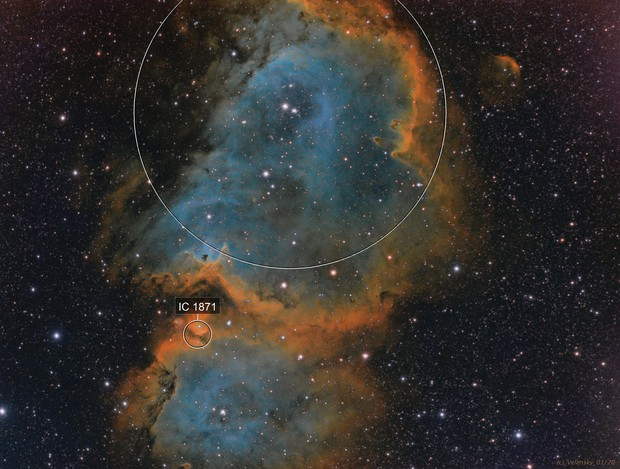 IC1871 - Soul Nebula (SHO)
