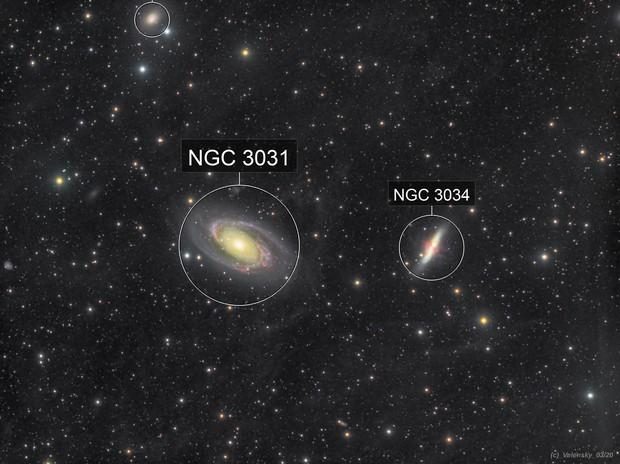 M81 - Bodes Galaxy