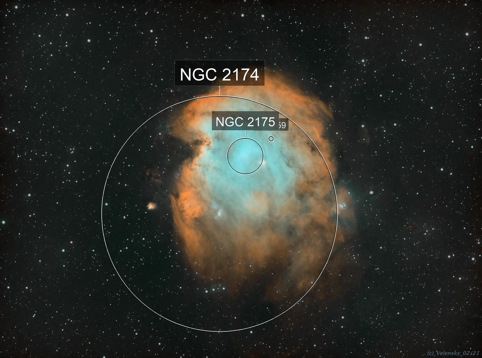 NGC2175 - Monkey Head Nebula