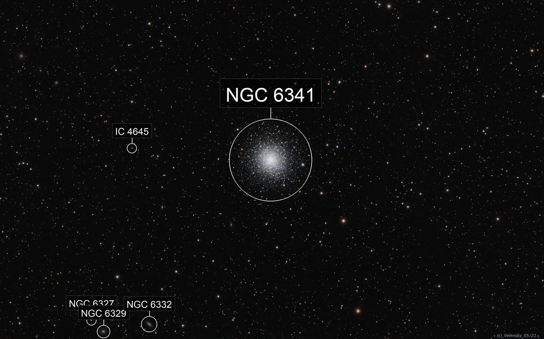 M92 - NGC6341 - Globular Cluster