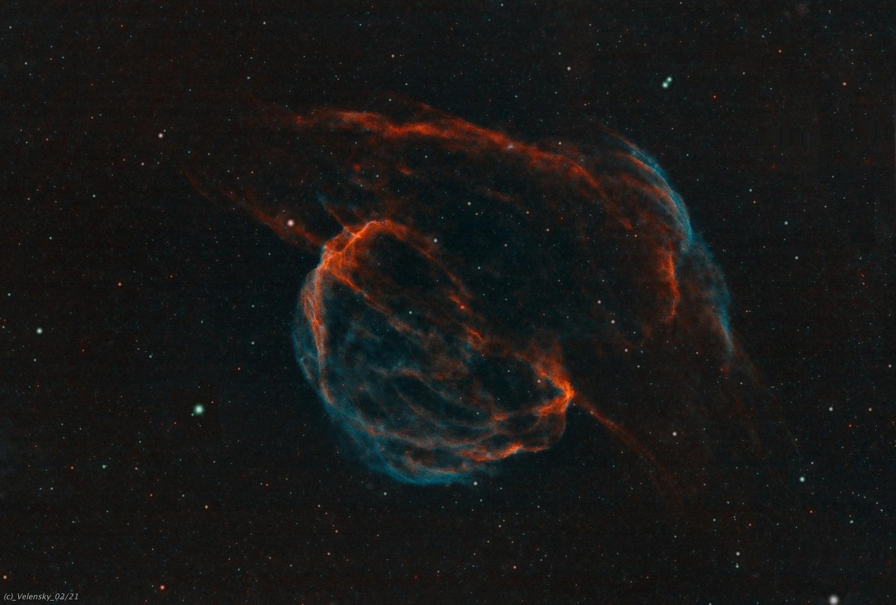 SH2-224 - Sampan Hat SN Remnant