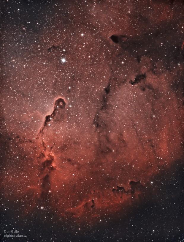 IC 1396 - Elephant's Trunk Nebula in HOO