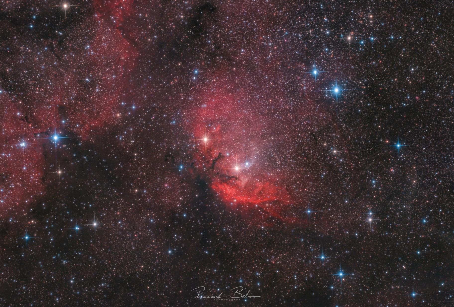 Sh2-101 - Tulip Nebula