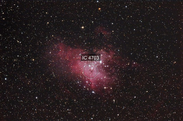 M16 - Eagle nebula unmodified