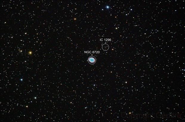 M57 -  ring nebula in lyra