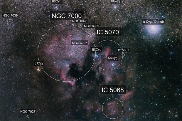 NGC 7000 unmodified