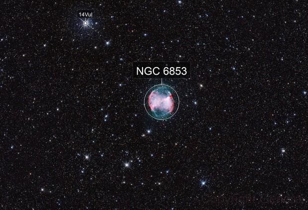 M27 - dumbbell nebula (umodified)