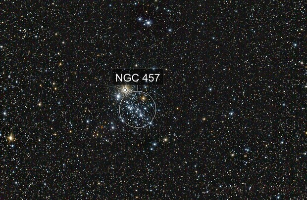 NGC 457 - Owl cluster