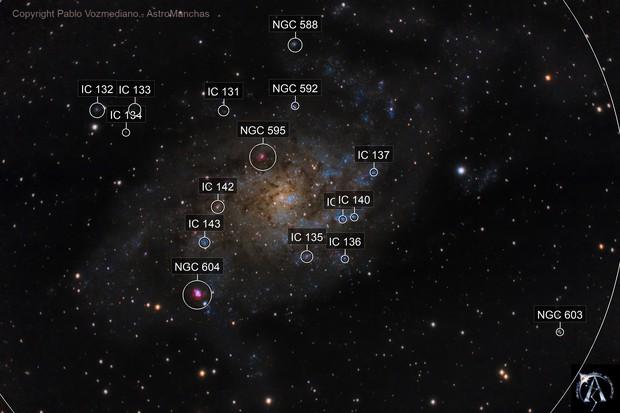 M33.- Pinwheel Galaxy.