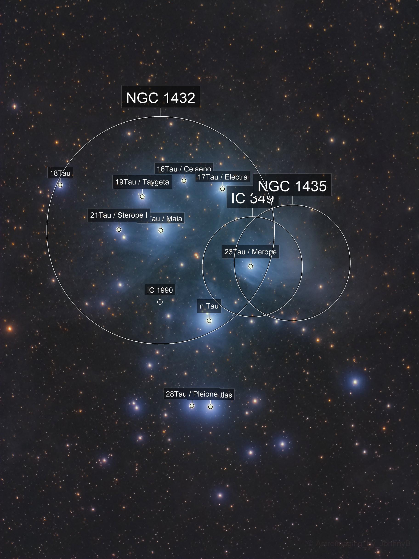 Messier 45: The Pleadies