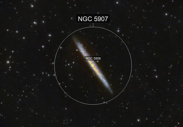 NCG 5906 The Splinter Galaxy