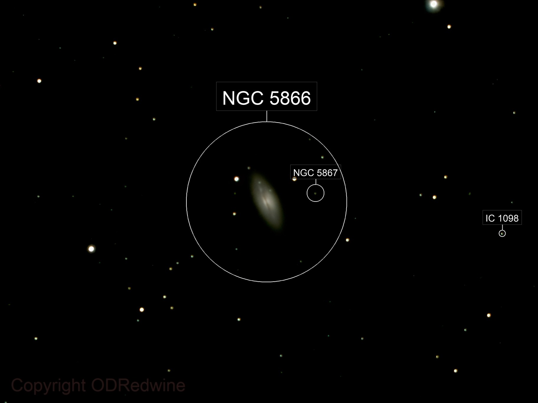 The Spindle, Galaxy NGC 5866, the lead candidate for Messier 102