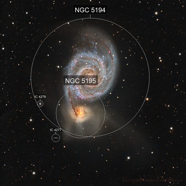 Two Galaxies Doing the Tango 23 Million Lightyears Away