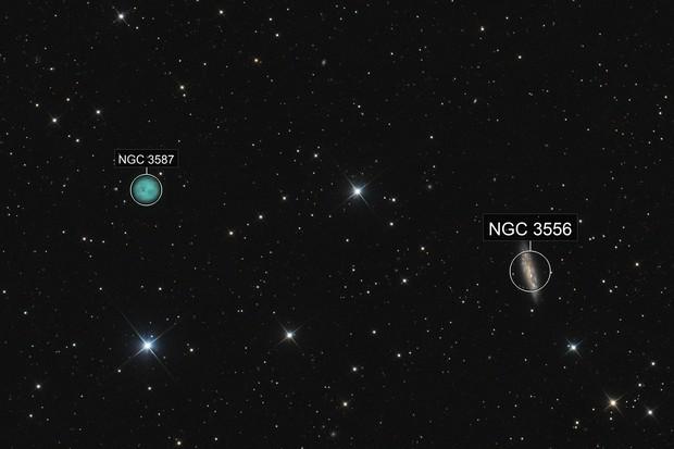 Owl Nebula and M108