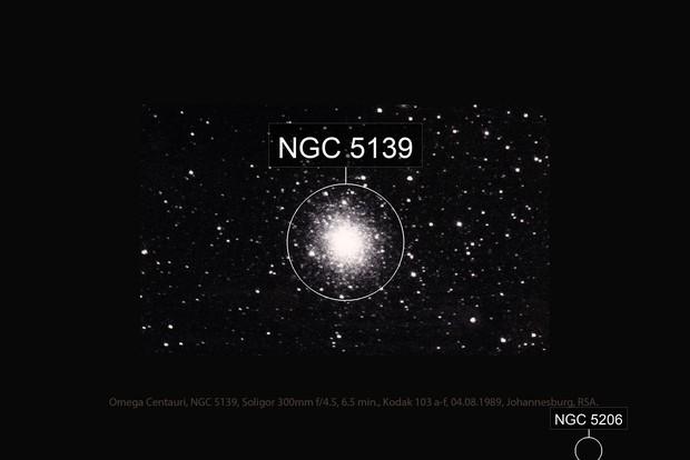 """Ancient"" Omega Centauri"