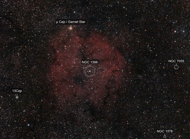 Elephant´s Trunk nebula