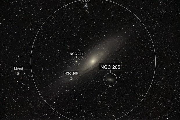 M31, Andromedagalaxy