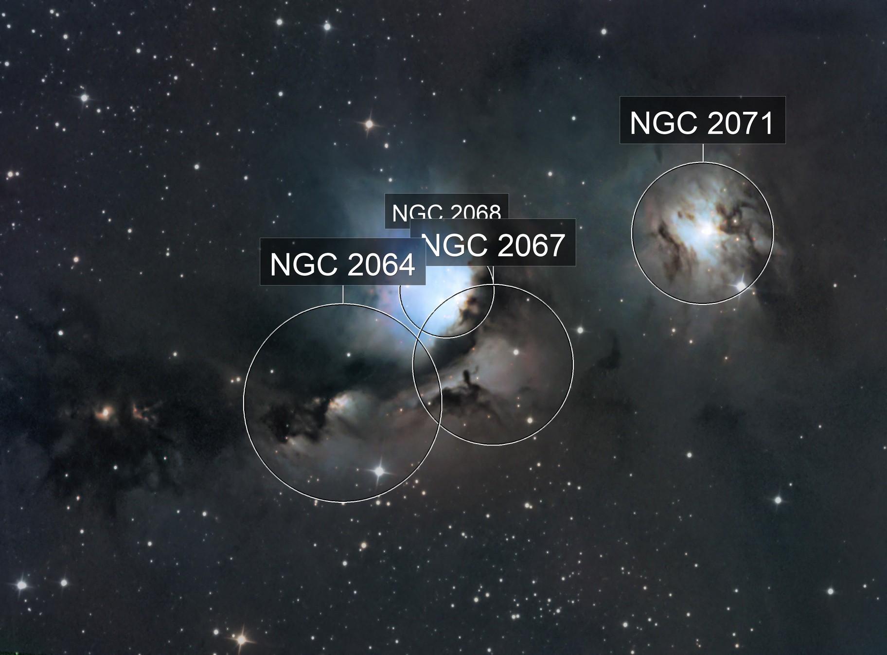 M78, NGC2067