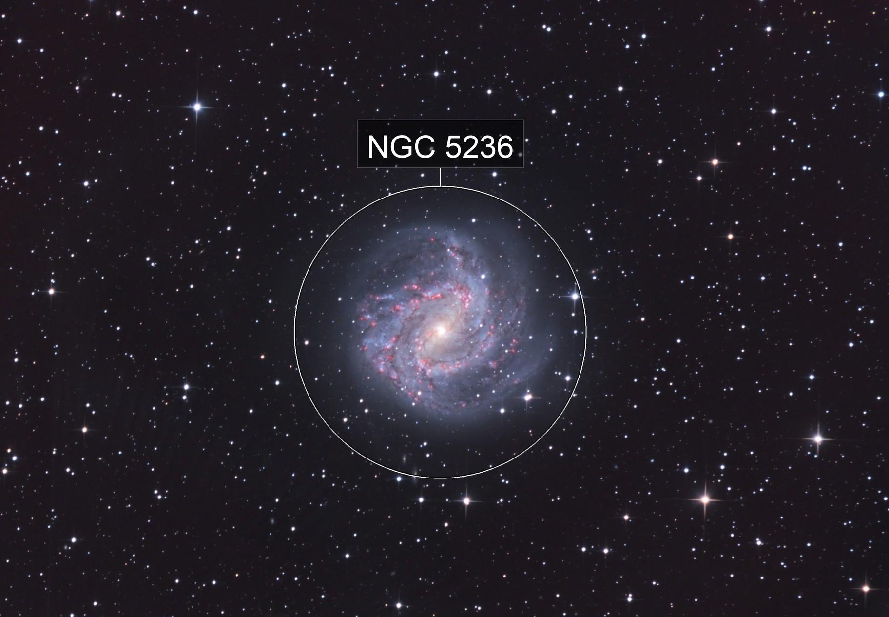 M83 Southern Pinwheel Galaxy