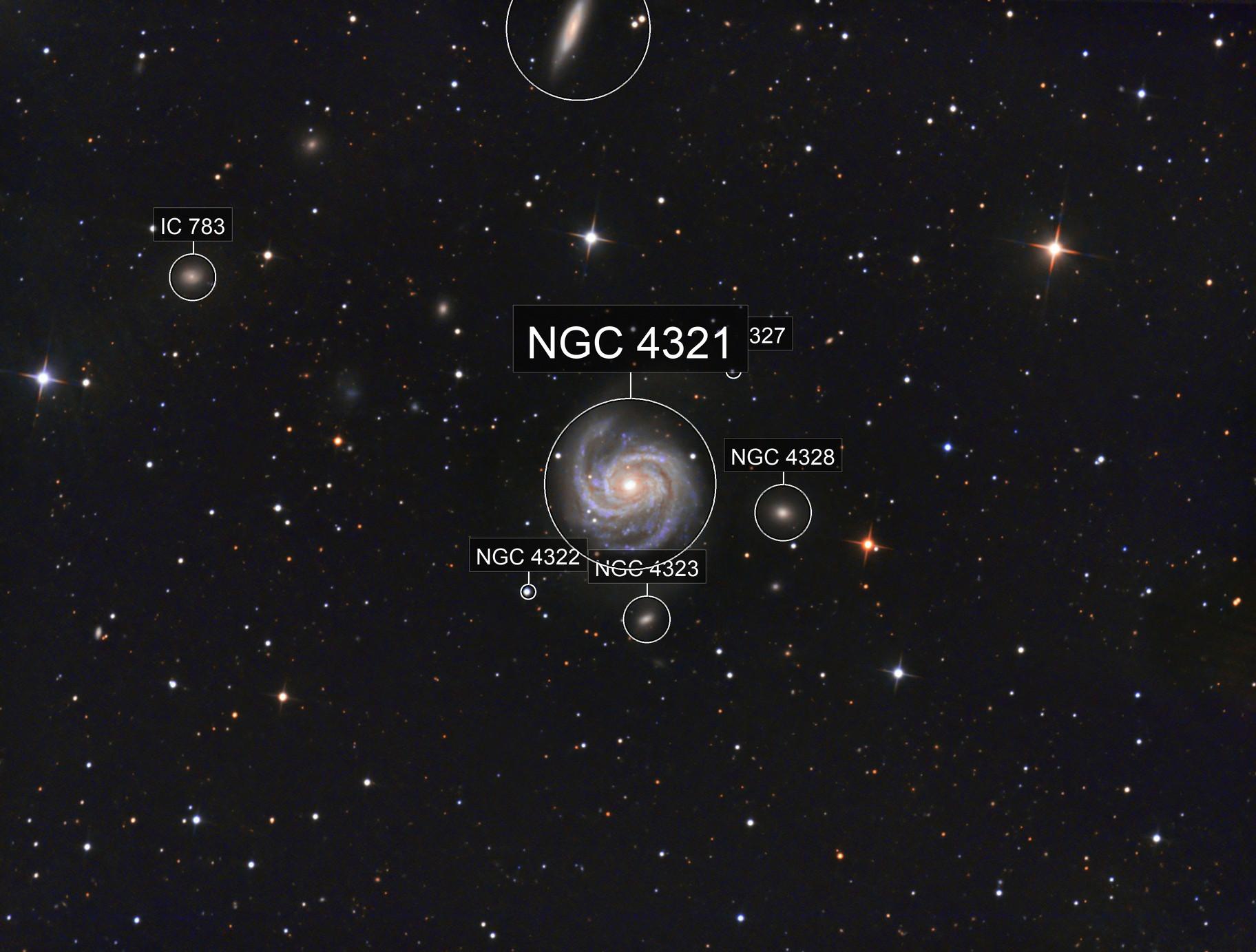 M100  NGC4321