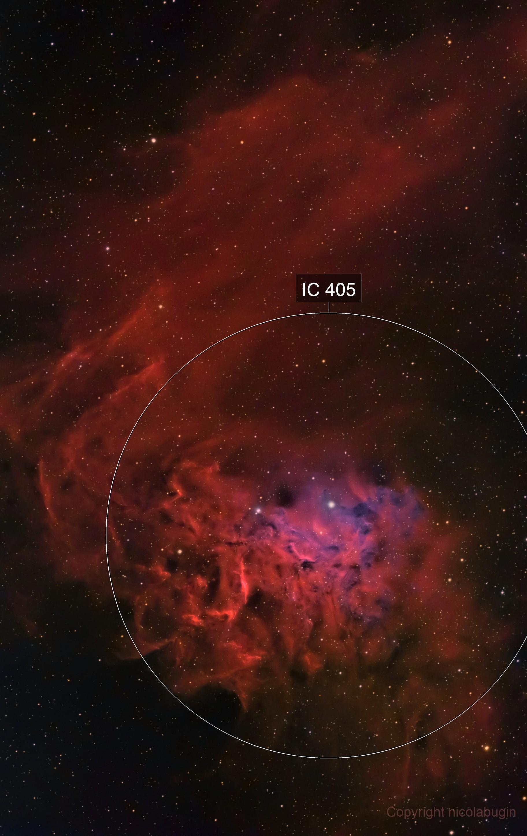 IC405 HaRGB