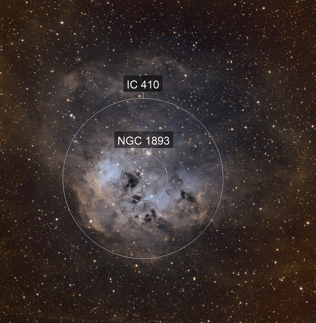 NGC1893 TadPole SHO Hyperstar