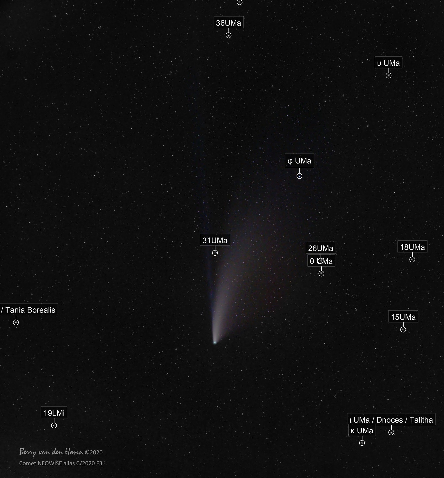 Comet C/2020 F3 NEOWISE